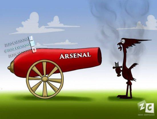"""Арсенал """"выстрелил"""" из своей пушки по Ливерпулю"""